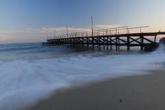de Zwarte Zee en het zijdeachtige water stock foto's