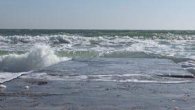 De Zwarte Zee odessa stock videobeelden