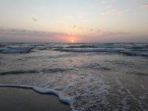 De Zwarte Zee Seaset in Odessa royalty-vrije stock afbeeldingen