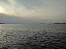 De Zwarte Zee Sebastopol stock afbeeldingen