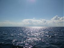 De zwarte Zwarte Zee in Sebastopol Stock Fotografie