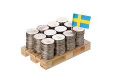 De Zweedse economie kan weerstaan royalty-vrije stock afbeeldingen