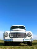 De Zweedse Schrijver uit de klassieke oudheid van de Auto - de Kleine Bestelwagen van jaren '60 Stock Afbeeldingen