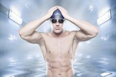 De zwemmer royalty-vrije stock fotografie