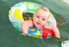 De zwemmer van de baby Stock Afbeelding