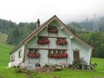 De Zwitserse landbouwers huisvesten Stock Fotografie