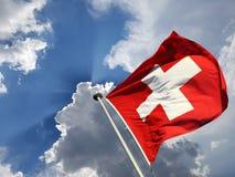 1 de Zwitserse nationale dag van augustus Stock Foto's