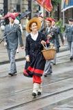 De Zwitserse Nationale parade van de Dag Royalty-vrije Stock Foto