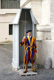 De Zwitserse wacht van Vatikaan Royalty-vrije Stock Foto