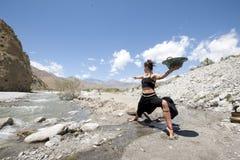 Dea del fiume Fotografie Stock Libere da Diritti