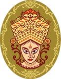 Dea dell'indiano di Durga Immagine Stock
