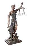 Dea di giustizia Immagini Stock