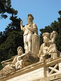 Dea di Roma fontanna 2 Fotografia Royalty Free