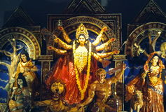 Dea Durga Immagine Stock