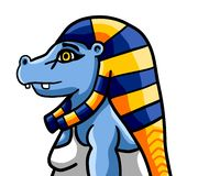 Dea egiziana Taweret royalty illustrazione gratis