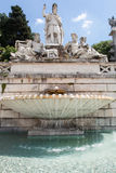 Dea Roma fountain Stock Photos