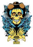 Dead or alive. Vector illustration ideal for printing on apparel clothes Stock Photography
