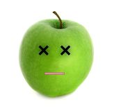 Dead apple Stock Photography