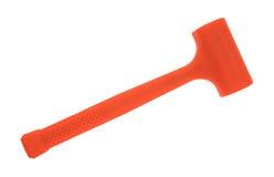 Dead blow orange hammer Stock Photo