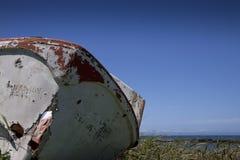 Dead boat. Stock Photos