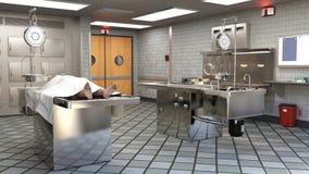 Autopsy, Morgue, Examiner Operating Room