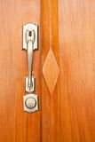 Dead Bolt Lock Royalty Free Stock Image