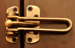 Dead Bolt Lock Royalty Free Stock Images