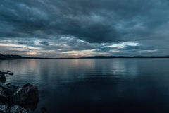 Dead calm before the storm Royalty Free Stock Photography