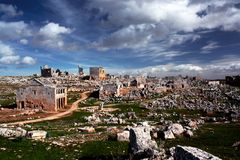 Dead Cities of Syria royalty free stock photos