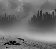 Dead city Royalty Free Stock Images