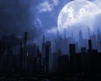 Dead city Stock Image