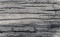 Dead cracked wood. A deeply weathered and cracked image of wood Stock Photo
