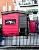 Dead Crow Comedy Room, Wilmington, NC. Royalty Free Stock Image