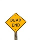 Dead End Royalty Free Stock Photos