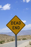 Dead end Royalty Free Stock Images