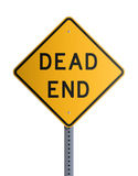 Dead end board Royalty Free Stock Image