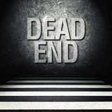 Dead end concept Stock Images