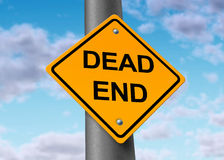 Dead end confusion frustration blocked final place Stock Images