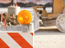 Dead end construction Stock Photos
