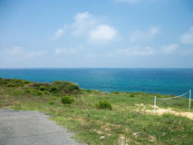 Dead-end Road With Sea View Stock Image