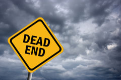 Dead end Royalty Free Stock Photography