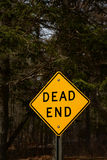 Dead end road sign Royalty Free Stock Image