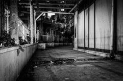 Dead End Side Street Stock Images