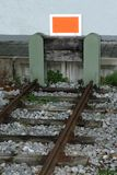Dead-end siding Stock Photos