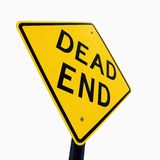 Dead End sign. Road sign reading Dead End royalty free stock photography