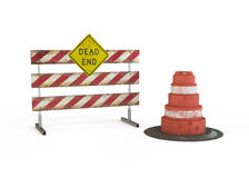 Dead End Sign Stock Photography
