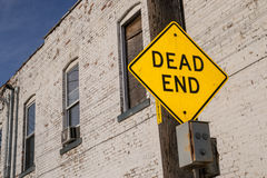 Dead End sign. Stock Image