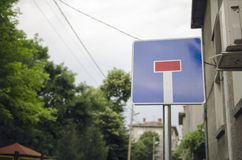 Dead End Sign Stock Images