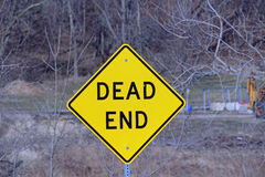 Dead End Sign Royalty Free Stock Photo