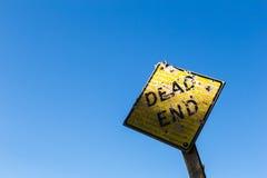 Dead end sign Stock Photos